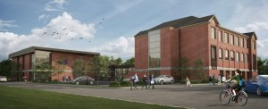 Artists rendering of Grant School 2014